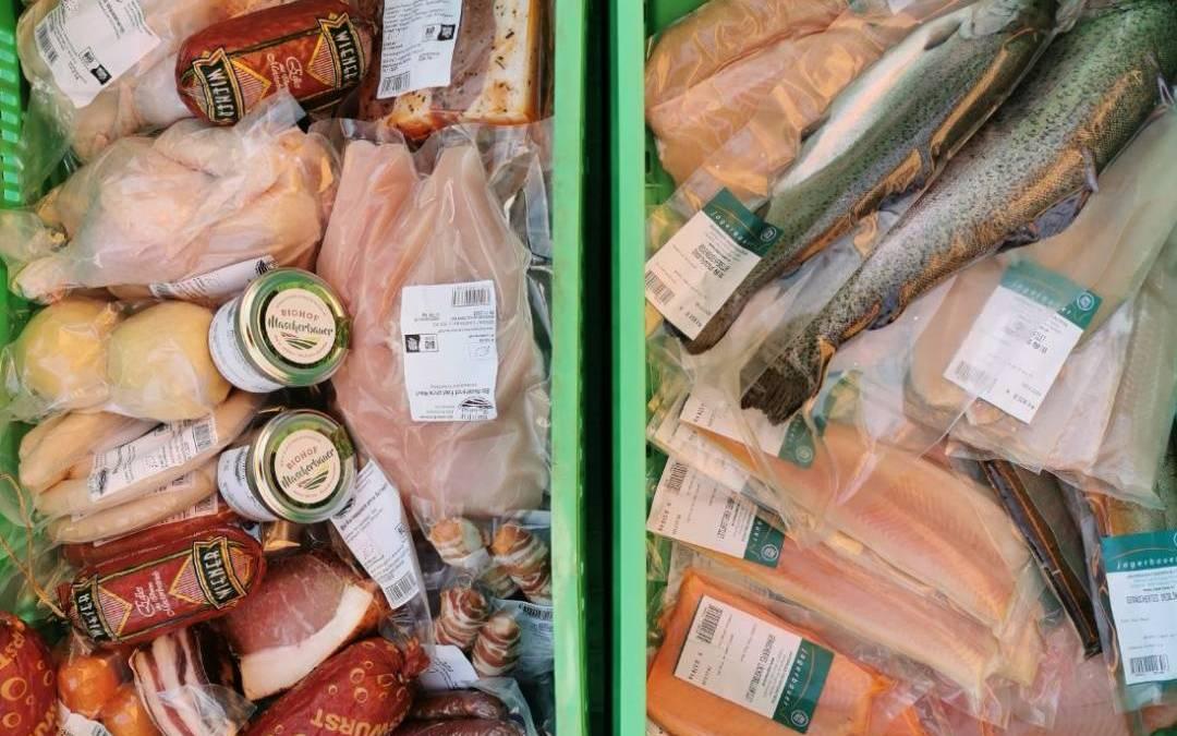 Fleisch, Fisch & Freilandgänse und -enten auf Vorbestellung